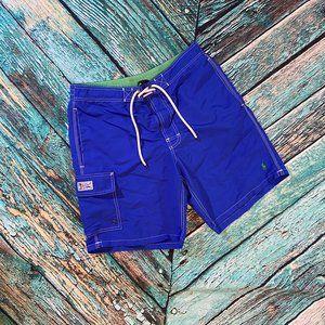 POLO Ralph Lauren Men's Blue Board Shorts S